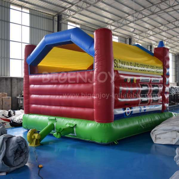 Fire truck inflatable bounce house, inflatable bouncer for sale