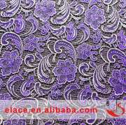 African French lace with gilding fashion bridal gown party dresses silver lace fabric wholesale