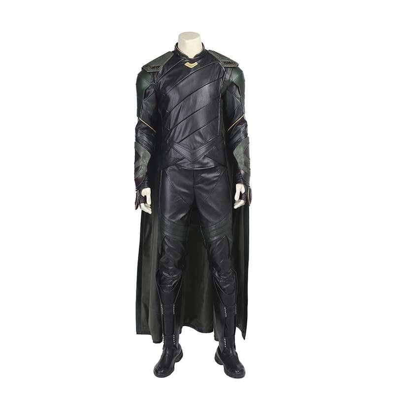 Manluyunxiao Thor Ragnarok Loki Cosplay Costume Adult Halloween For Men Outfit Leather Suit Customiz