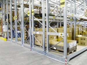 Mobile Industrial Rack Rolling Bulk Shelves For Warehouse Storage Space