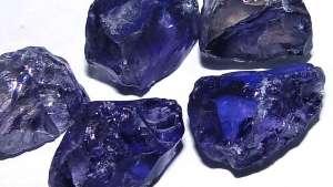 Rough Gemstones Tanzanite