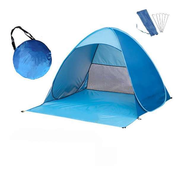 WATER PROOF POP UP 2 PERSON BEACH CAMPING TENT WITH UV PROTECTION