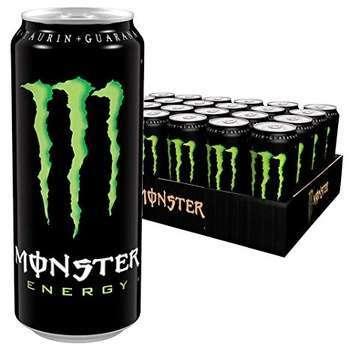 怪物绿色能量饮料500ML