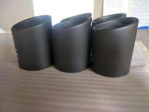First generation of fiber carbon fiber exhaust muffler
