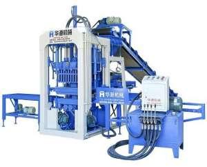 QT3-25 semi-automatic brick making machine