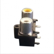 RCA PIN JACK, 1X2P, 1X3P, with customer color