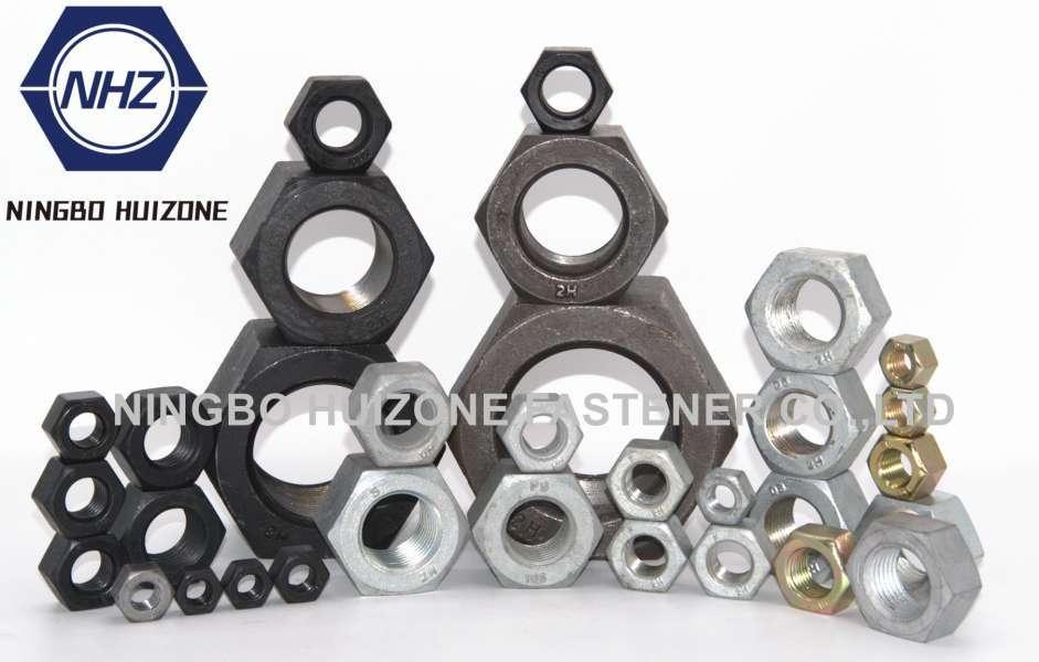 HEXGONAL NUT ASTM A194 A563 SAE J995 DIN 934 ISO4032