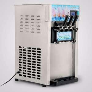 商用三味软冰淇淋机冷冻冰淇淋筒18L/h CE