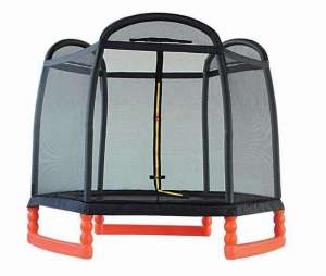 7.2ft Jingyi Polygonal trampoline with enclosure