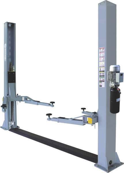 2 Post Manual Release Car Lift Hoist
