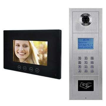 7 Inch Home Intelligent Access Control System Villa Video Door Phone / Door bells