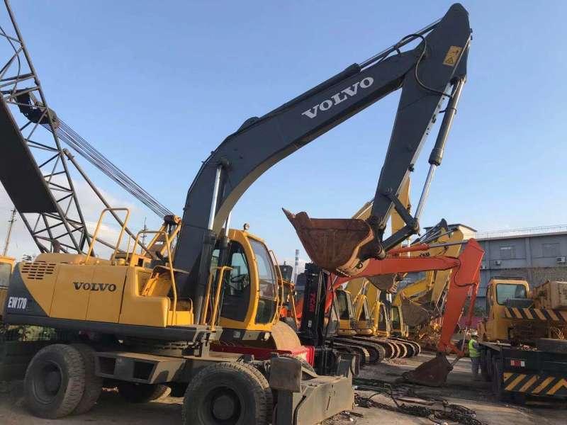 Used Volvo EW170 Wheel Excavator With Hot Sale
