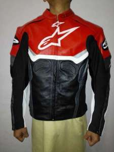 Genuine Leather Motorbike Jacket for man