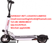 electric scooters cheap China shipping air freight to New York/Vancouver