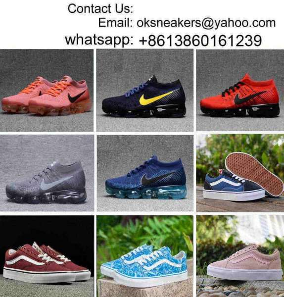 5351f735c436 Wholesale 2018 Air Vapormax Running Shoes Air Vapor 2018 Max Shoes Vans  Shoes Casual Sneakers Vans Canvas ...