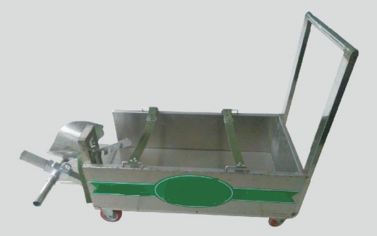 Calf colostrum drenching cart
