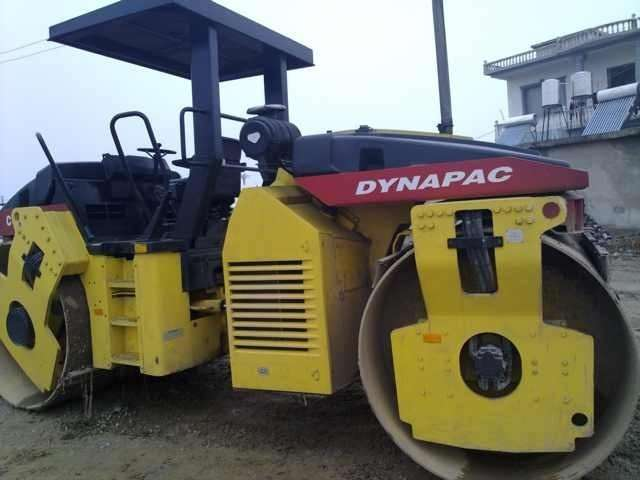 Used Road Roller Dynapac CC522 Single Drum Roller Made in Sweden