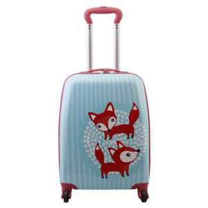 SMJM 18 Inch HIgh Quality Big 4 Wheeled Luggage Branded Kids Suitcase  for Travel and School