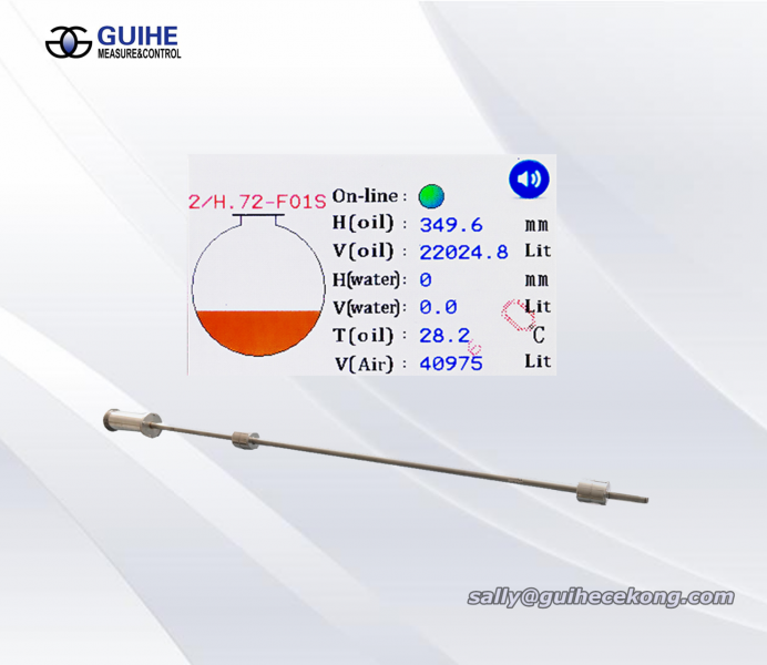 Anti Explosion-proof Diesel Fuel Tank Meter / Liquid Level Probe