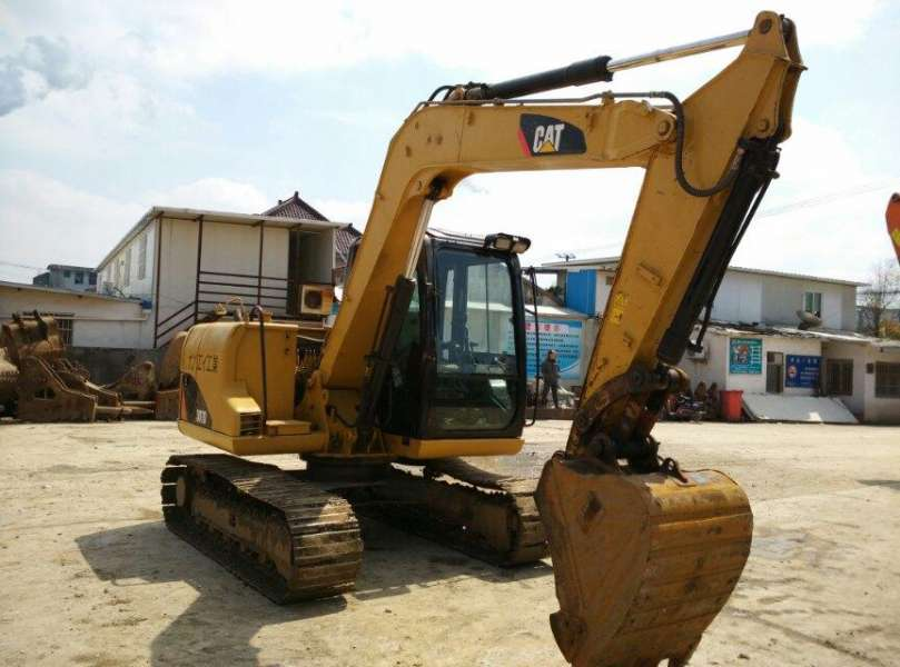 Used CAT 307D Hydraulic Mini Excavator In good condition