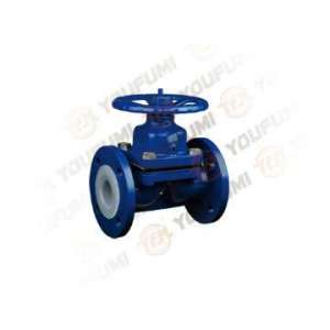 Manual PFA lined valve Weir type Diaphragm Valve Like