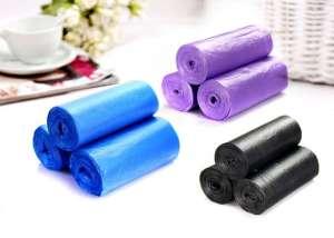 Customize LDPE Plastic Trash Bag on Roll