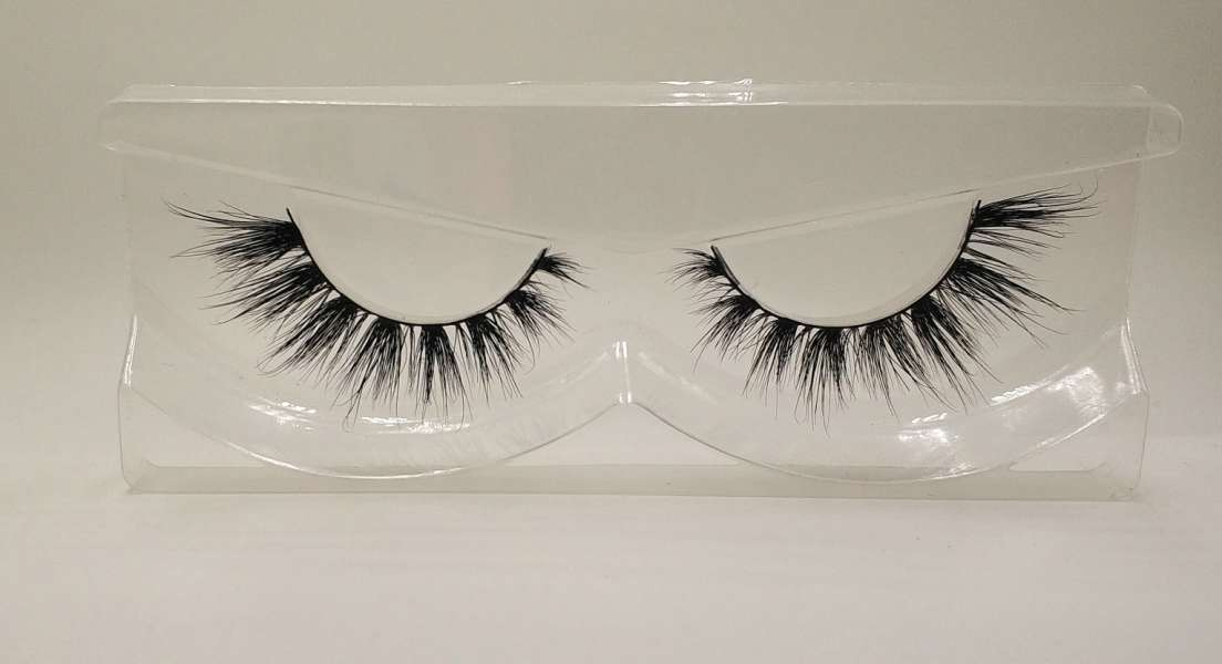 Reusable 3D Mink False Eyelashes 100% Mink Fur Handmade Fake Lashes 1 Pair PackageMTL802