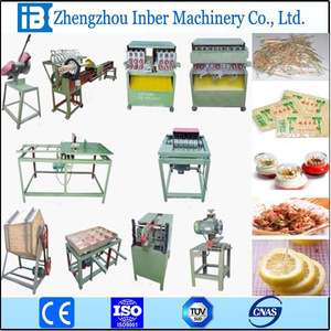 Automatic bamboo product toothpick machine with ISO
