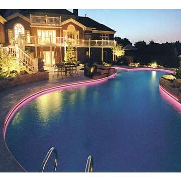 Side Glow Fiber Optic Lighting Cable For Swimming Pool Pond Lighting ...