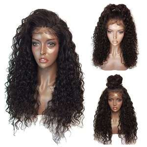Real Bjd Doll Wig 100 Modacrylic Fiber Elastic Band Brazilian Hair Glueless Full Lace Wig