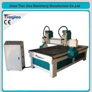 4.5KW Spindle CNC Wood Router With Vacuum Table