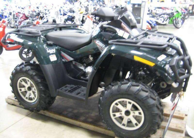 NEW CAN-AM OUTLANDER 800 XT HO ATV