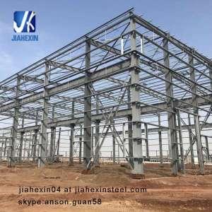 Hot Dip Galvanized Pre-engineering prefab Steel Structure