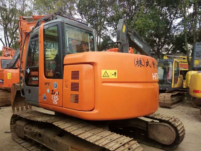 Used ZX135US-3 Hydraulic Crawler Excavator for sale