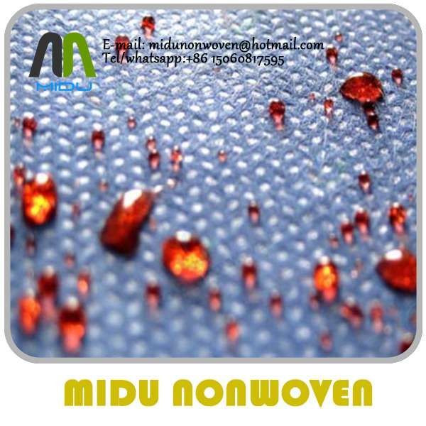 Waterproof Sms/smms Non Woven Fabric For Medical Disposable Products