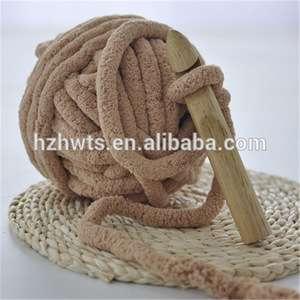 Fancy Soft Fluffy Chunky Chenille Yarn For Arm Knitting