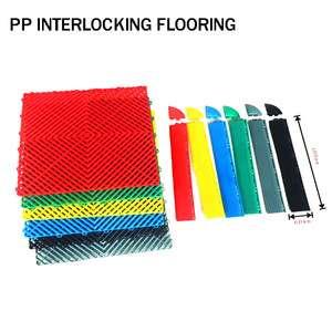 Interlocking Flooring Pp Material Clear