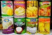 Canned Fruits (apricot, peaches, cocktail, passion fruit...etc)