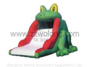 Inflatable Slide-Frog Slide