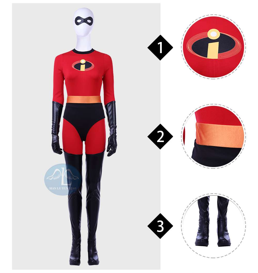 The Incredibles 2 Helen Parr Cosplay Costume Elastigirl Disney Costume For Adult Women Manluyunxiao