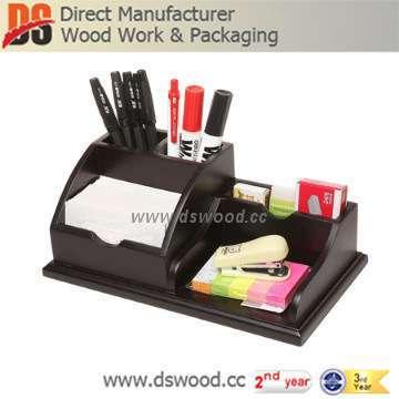 Wooden desk file organizer for caddy pen business card memo pad rack wooden desk file organizer for caddy pen business card memo pad rack like colourmoves