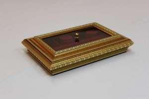 Bright Gold Jewelry Box