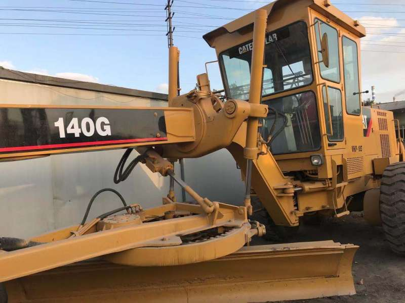 USED CAT 140G MOTOR GRADER USED JAPAN MADE MOTOR GRADER