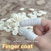 Small Parts Handling Finger Protection Latex Finger Coat with quality