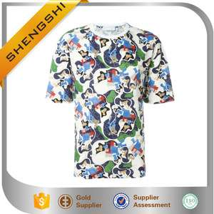 OEM service high quality boys stylish fashion printing design t-shirt