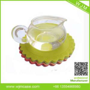 Customized Green design soft rubber pads