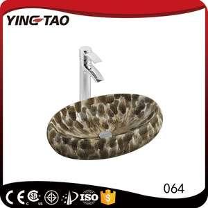 中国制造商供应商酒店项目椭圆陶瓷洗手盆