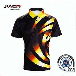 Wholesale Cheap Price New Design Custom 2018 Full Sublimation Mens Polo Shirt T Shirt