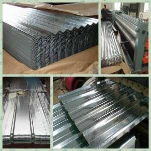 SGCH JIS G3302镀锌瓦楞钢屋面板材