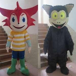 中国销售流行服装吉祥物